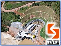Geoambiente renova contrato com a Usina Salto Pilão