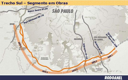 Trecho Sul - RODOANEL - G1.Globo