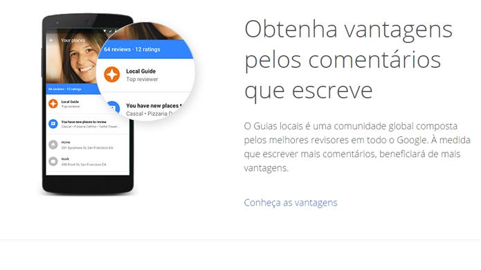 Programa do Google vai recompensar quem escrever reviews no Google Maps (foto: Reprodução/Google)