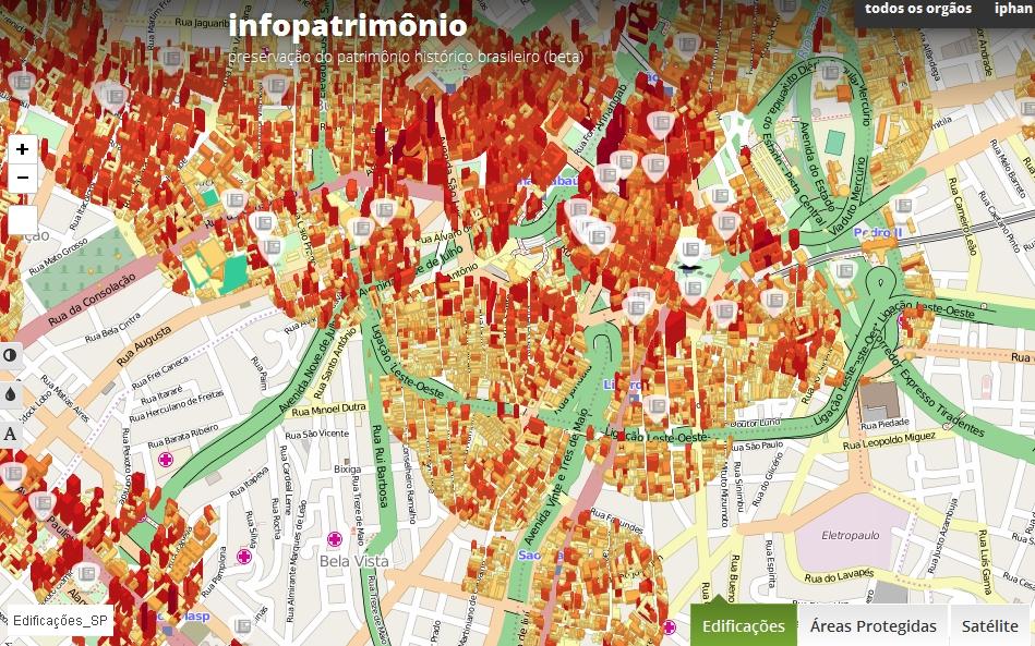 Site integra dados de preservação do patrimônio histórico brasileiro