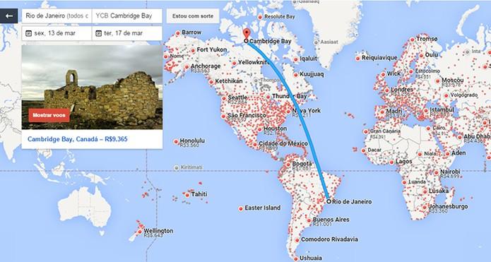 Destinos mais procurados no Google Voos no Brasil e no mundo (Foto: Reprodução/Barbara Mannara)