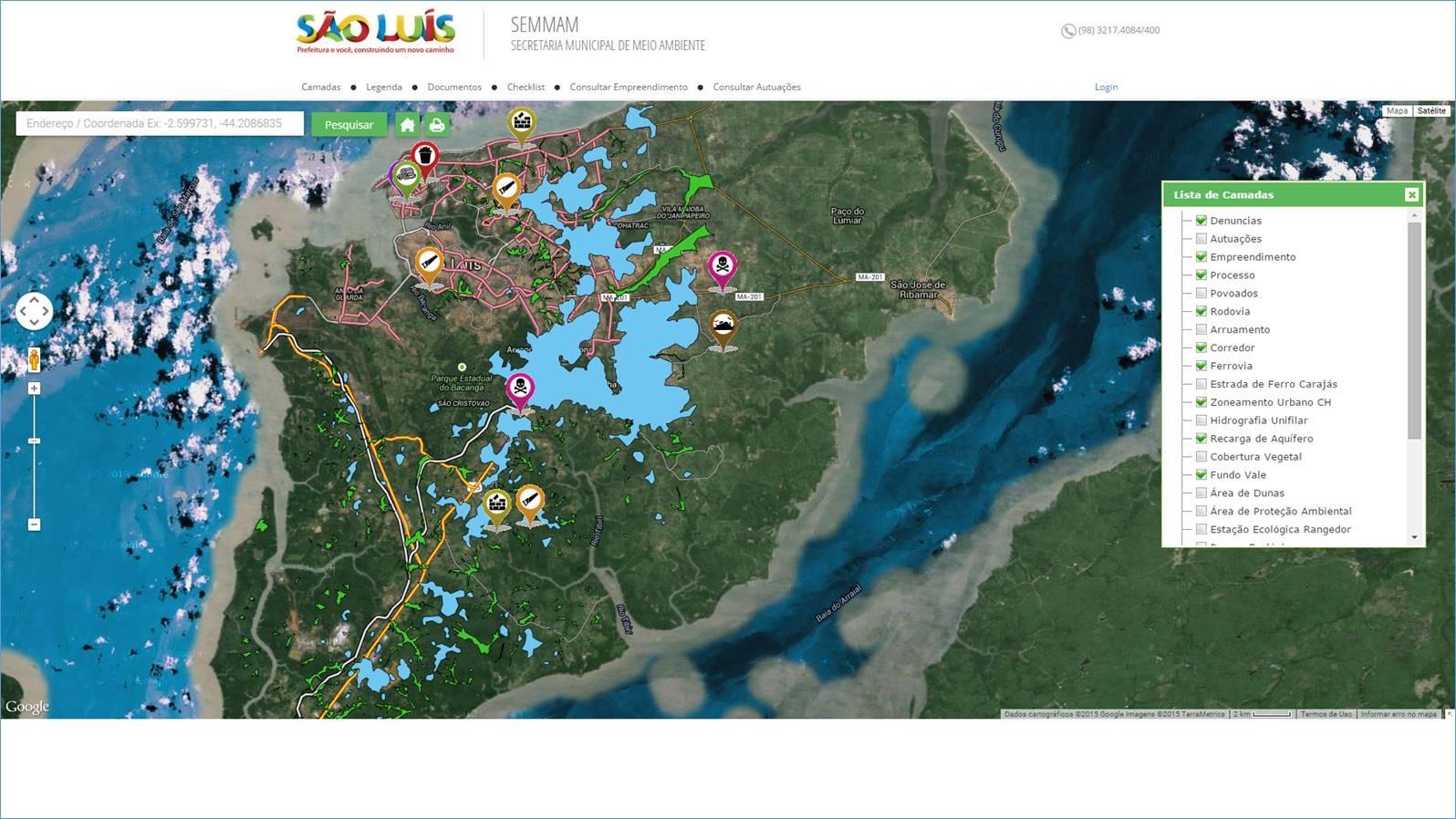 Projeto SIGA - Geoambiente
