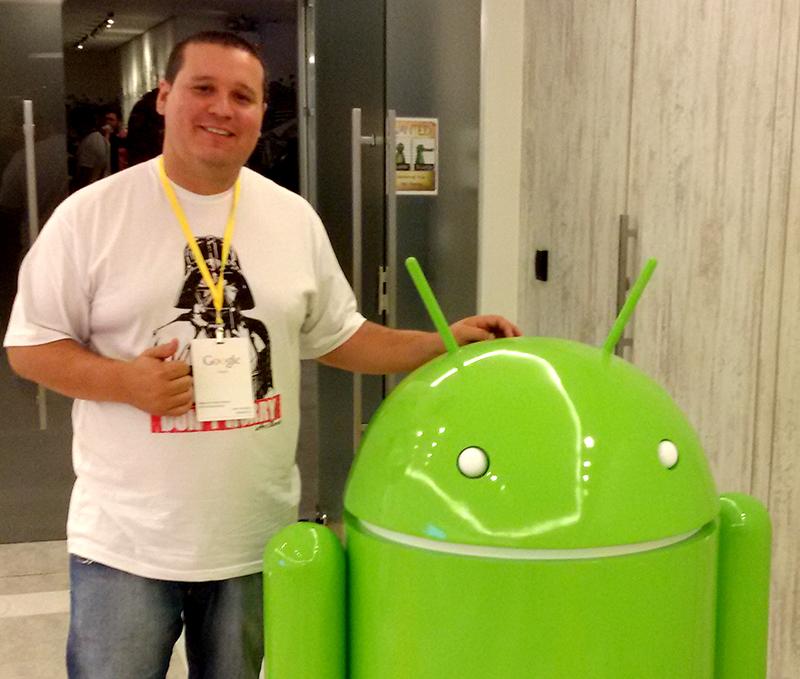 Mateus Pontes, responsável pelo desenvolvimento mobile do SIGA